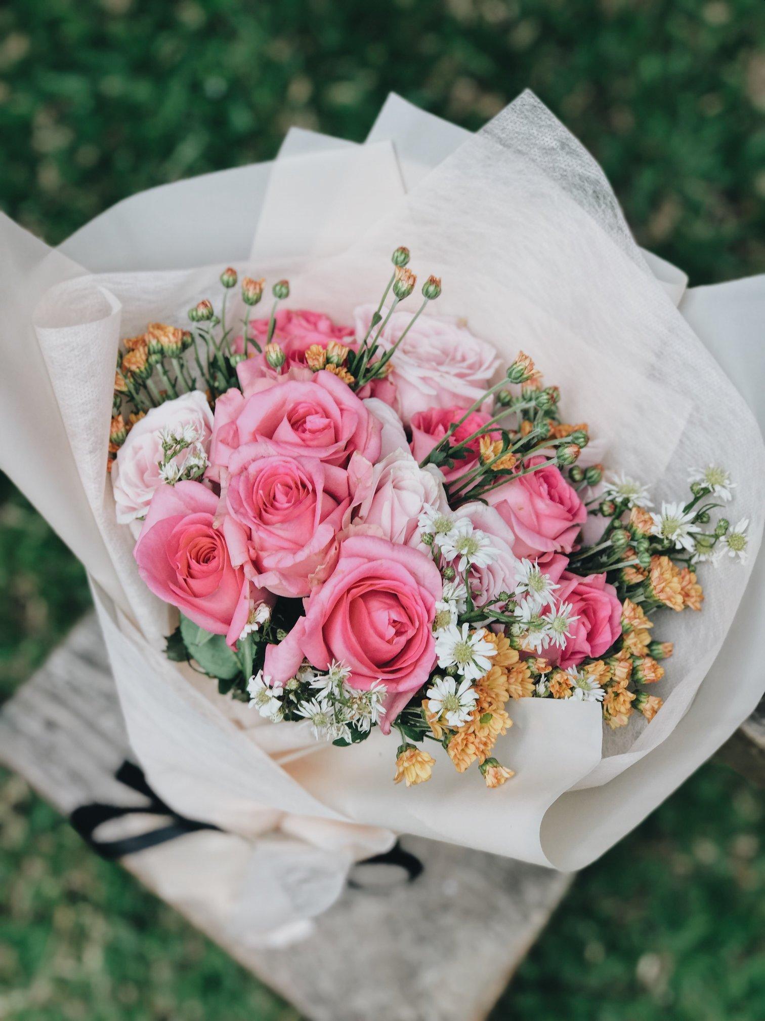 bouquet fiori freschi gorizia consgena