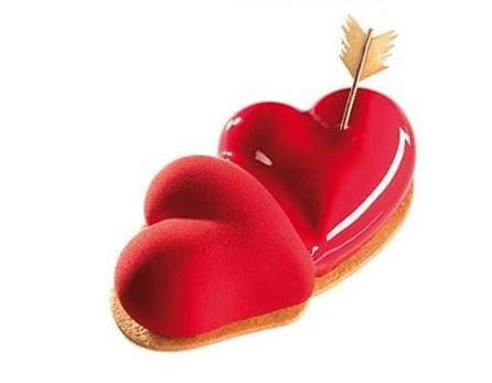 colpo di fulmine doppio cuore san valentino