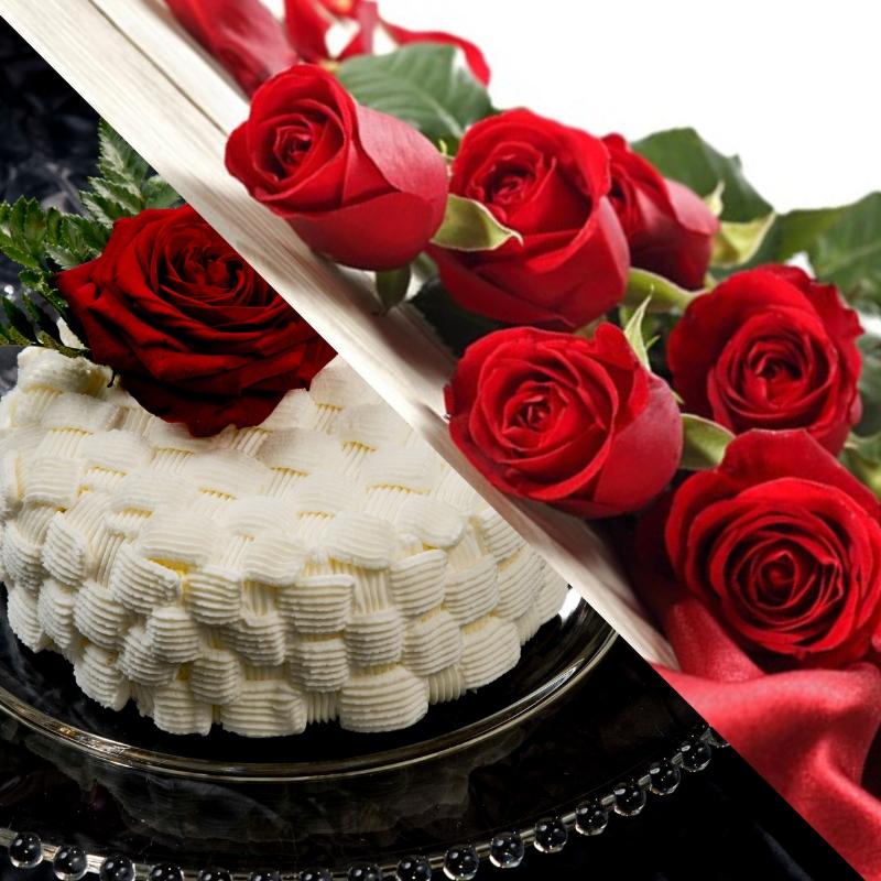 torta e fiori consegna a domicilio