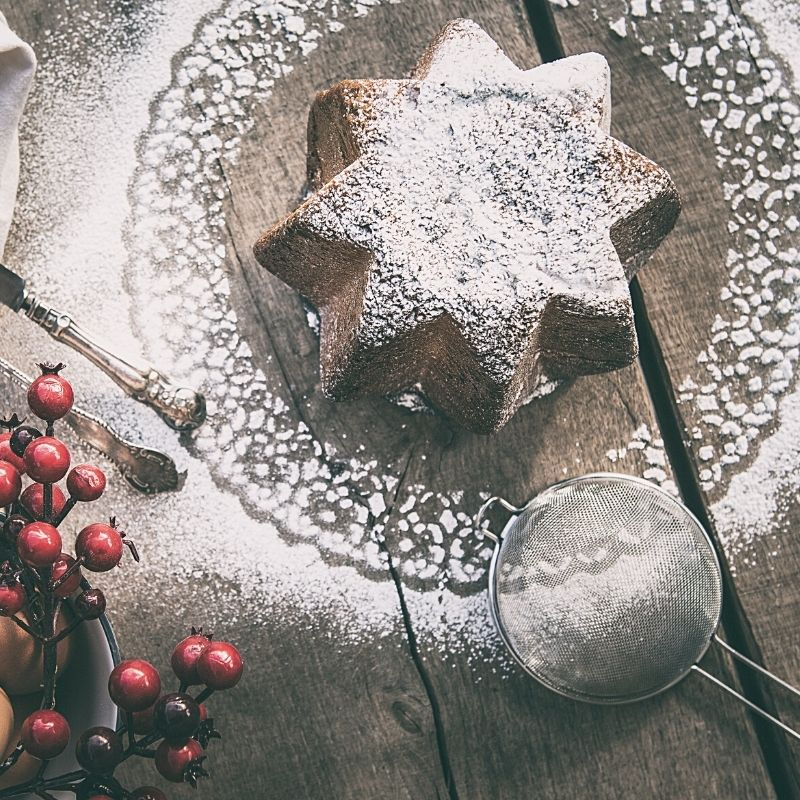 pandoro al cioccolato artigianale