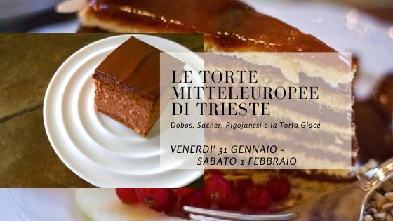 Le torte mitteleuropee: Dobos, Sacher, Rigojancsi e la Glacé