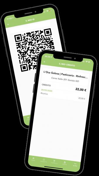 oca golosa wallet portafoglio virtuale
