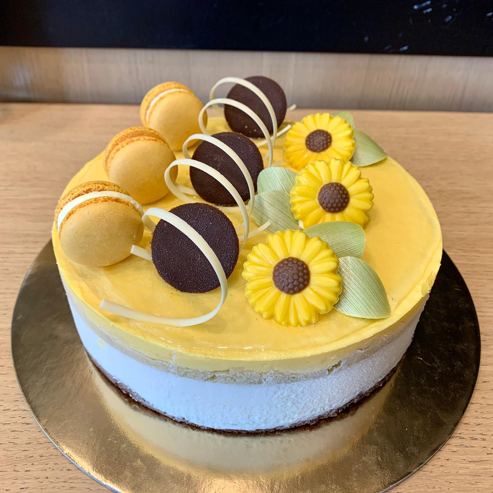 torta esotica mousse cocco mango ananas