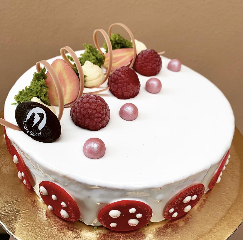 torta fragolina mousse fragola e vaniglia