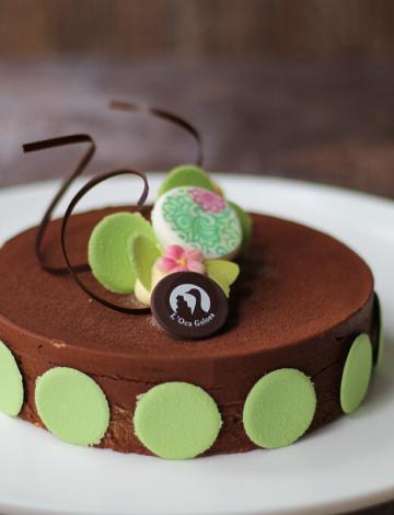 Torta Mocaccino: cioccolato bianco, fondente 70%, caffè