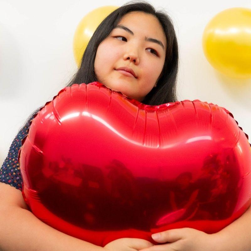 palloncino san valentino personalizzato